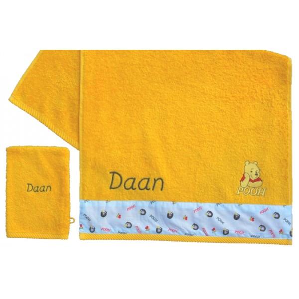 Handdoek met naam - Winnie The Pooh