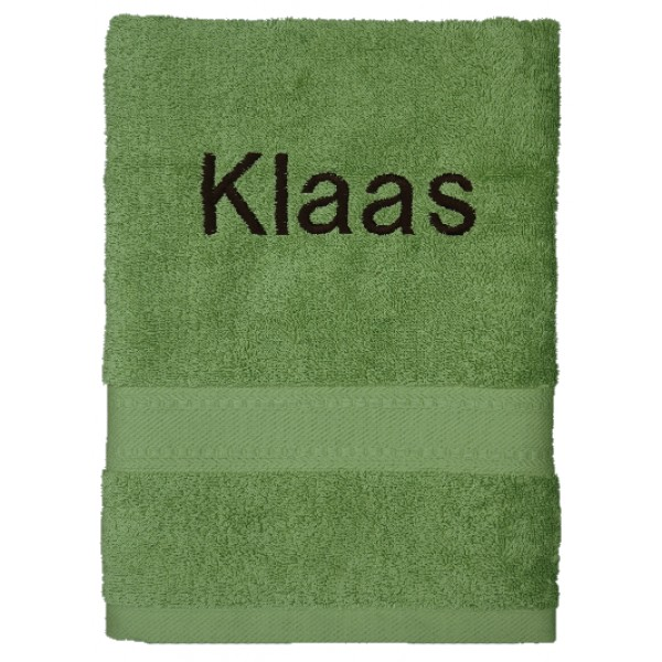 Handdoek met naam - Jules Clarysse Talis