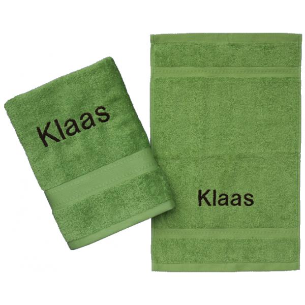 Handdoek met naam - Handdoekenset Jules Clarysse Talis