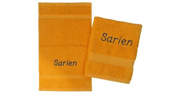 Handdoeken(zwem)set met naam