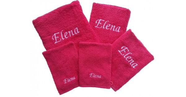 Handdoekenset met naam