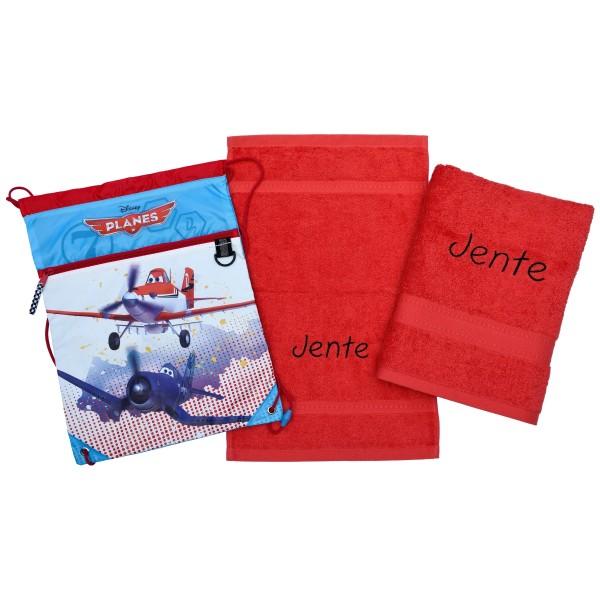 Handdoek met naam - Handdoeken(zwem)set