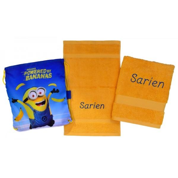 Handdoek met naam - Handdoeken(zwem)set Jules Clarysse Talis