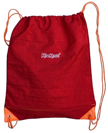 Zwemzak Kickers rood-oranje